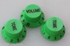 Knobs Verdes Stratocaster Potenciometro Botones Poti Knopfe Boutons Green Strat