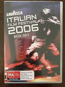 ITALIAN FILM FESTIVAL 2006 (6 DVD BOX SET) 11 Films + Extras PAL 0 Region Global