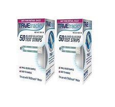 100 TRUETrack Blood Glucose Diabetic Test Strips 04/26/2019 True Track $$SAVE!!!