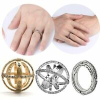 Hot Sale Stainless Steel Astronomical Ball Ring Sphere Cosmic Constellation Gift