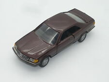 1:35 NZG Mercedes 500SEC V8 Made W Germany 420SEC 380SEC 560SEC W126 1:36 1:43