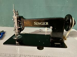 Singer 114w103 Chain Stitch Embroidery Machine Complete Table Stand Motor Includ