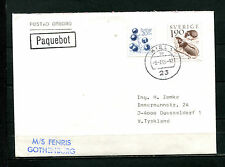 Paquebot - Kiel MS Fenris Gothenburg  1988   (DK5)