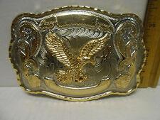 Authentic Classico Italia A186 Large  Metal  Eagle Belt Buckle