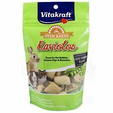 Vitakraft Raviolos Crunchy Treat For Pet Rabbits Guinea Pigs & Hamsters 5 Oun...