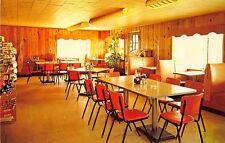 Eastman Ga Jump's Restaurant U. S. 23 & 341 Interior Juke Box Postcard