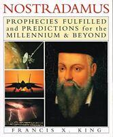 Very Good, Nostradamus, Francis X. King, Paperback