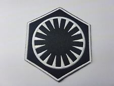Quality Iron/Sew on First order Patch the force awakens star wars rebels sith