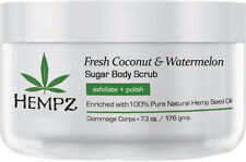 Hempz Coconut & Watermelon Sugar Body Scrub 7.3 oz - FREE SHIPPING