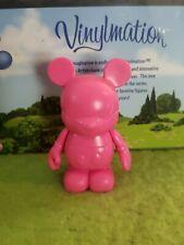 "Disney Vinylmation 3"" Park Set 1 Create Your Own Pink"