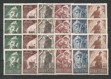 Österreich 1947 Kriegsgefangene 4 fach postfrisch