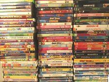 250 kids/children's dvds  Disney, Pixar, Dora, Spongebob, Sesame Street U pick