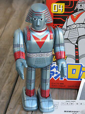 "MEDICOM Nostalgic Future Series 04 ~ ""GIANT ROBO"" 8.5"" Robot Tin Toy JAPAN ~ NIB"