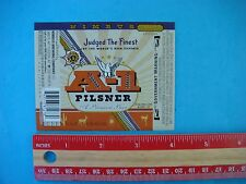 New BEER LABEL~ NIMBUS Brewing Co A-1 Pilsner Tucson AZ Brewery Judged Finest