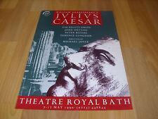 Shakespeare's JULIUS CAESAR  Pigott- Smith 90 Theatre Royal BATH Original Poster