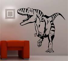 T-Rex Art mural autocollant vinyle dinosaures chambre d'enfant