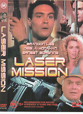 Laser Mission-1990-Brandon Lee- Movie-DVD