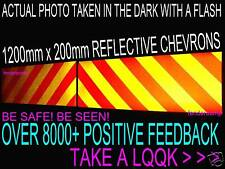 STICKERS FULLY REFLECTIVE CHEVRONS SIGN SAFETY RECOVERY VAN CAR BREAKDOWN TRUCK