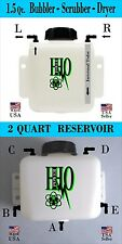 1.5 Quart HHO Bubbler/ Scrubber/ Dryer & 2 Quart Reservoir Tank, Custom Combo