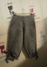 lego Gotha DDR XS Trachten Lederhose kurz 80er True Vintage leather trousers 3/4
