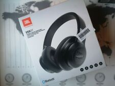 JBL E55BT Headphones Wireless Bluetooth Over Ear Headset Black
