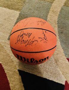 Phoenix Suns Autographed Wilson basketball 15 players Steve Nash