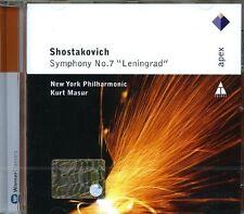Kurt Masur - Shostakovich Symphony No7 Leningrad [CD]