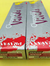 TWO Pravana ChromaSilk Vivids Hair Color WILD ORCHID 90ml each NEW