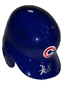 Chicago Cubs Anthony Rizzo AUTO Signed Autographed Authentic Batting Helmet COA