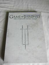 Game of Thrones- The Complete Third Season - 5 DVDs with episode guide