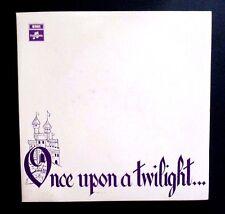 THE TWILIGHTS - ONCE UPON A TWILIGHT - ORIGINAL AUSSIE 1968 MONO LP - BLUE/BLACK