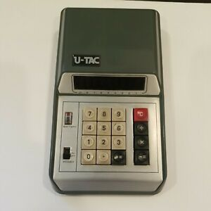 U-TAC Kobenica Digital Calculator Vintage mid '70's.