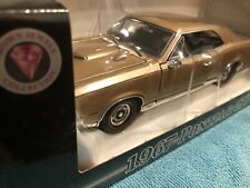 New listing Crown Jewels Collection #2403791 1/24� Scale 1967 Pontiac Gto in Signet Gold
