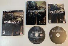PlayStation 3 Dark Souls II -- Black Armor Edition - TESTED & WORKING - CIB