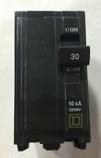 Square D QOB230 Circuit Breaker 2 Pole 30 Amp 120/240 Volt Bolt-on