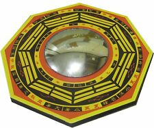 Feng Shui Bagua Pa kua Mirror Deflect Negative Energy & Protection 4.5inches