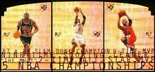 RARE}} Michael Jordan = 1997/98 UD3/MJ3, 3-Card SP Die-Cut Set ((SUPER NICE!!))