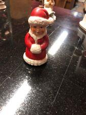Vintage Goebel West Germany Figurine Mrs.Santa Claus Christmas Ornament 1980