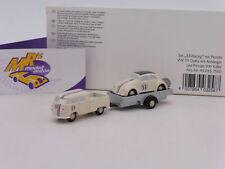 Schuco Piccolo 05575 # Piccolo VW T1 Pritsche Doka mit Anhänger & Herbie 53