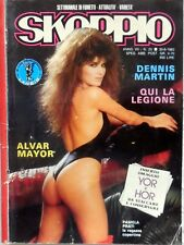 RIVISTA SKORPIO N.25 1983 PAMELA PRATI