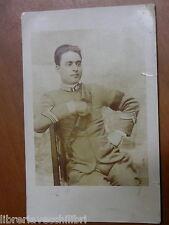 Vecchia foto d epoca militare REGIO ESERCITO ITALIANO Sicignano degli Alburni di