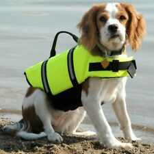 Dog Life Vest Safety Float M collie shar pei spaniel Bull Dog Life Preserver new
