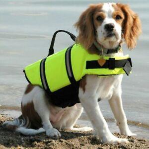 Dog Life Vest Safety Float M collie shar pei spaniel Bull Dog Life Preserver new
