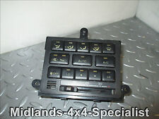 Rear Heater Controls. 1996 Toyota Landcruiser Amazon