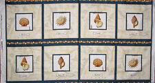 """23/"""" Panel De Tela-Qt Quilting Treasures Manor House Naranja bloques de pavo real"""