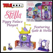 Angry Birds Stella Telepods Piggy Palace Playset Game inc. Gale & Stella NEW