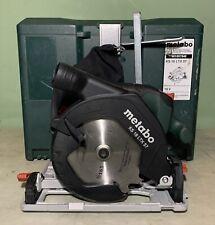 Metabo KS 18 LTX 57 18v 165mm Circular Saw Body Only in MetaLoc Case