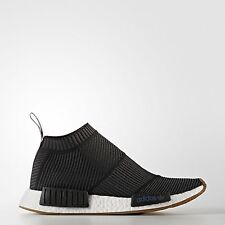Adidas Men's NMD_CS1 PK Primeknit Core Black Gum BA7209 Size 10 Brand New