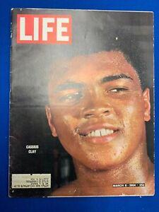 1964 Life Magazine Cassius Clay (Muhammad Ali)