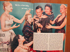 Feb. 16, 1957 TV Guide(WALLY COX/BETTY FURNESS/BUSTER  CRABBE/FATHER  KNOWS BEST